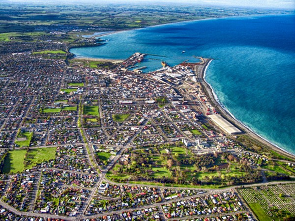 Timaru-District-Accommodation aerial view