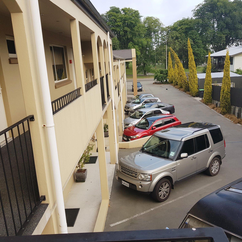 Motel Exterior Car Park